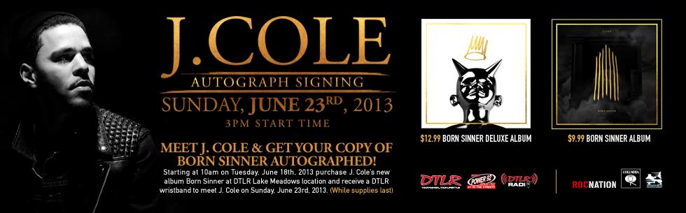 J cole funkmaster flex freestyle chicago meet greet pursuit j cole autograph signing june 23rd m4hsunfo